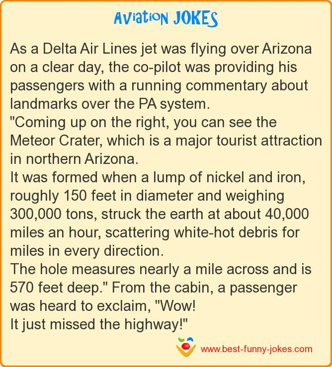 As a Delta Air Lines jet was f