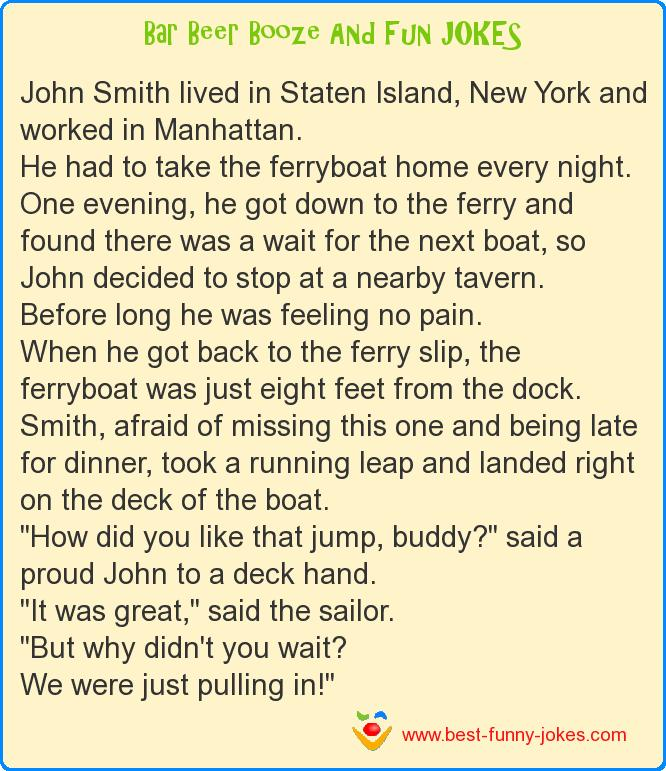John Smith lived in Staten