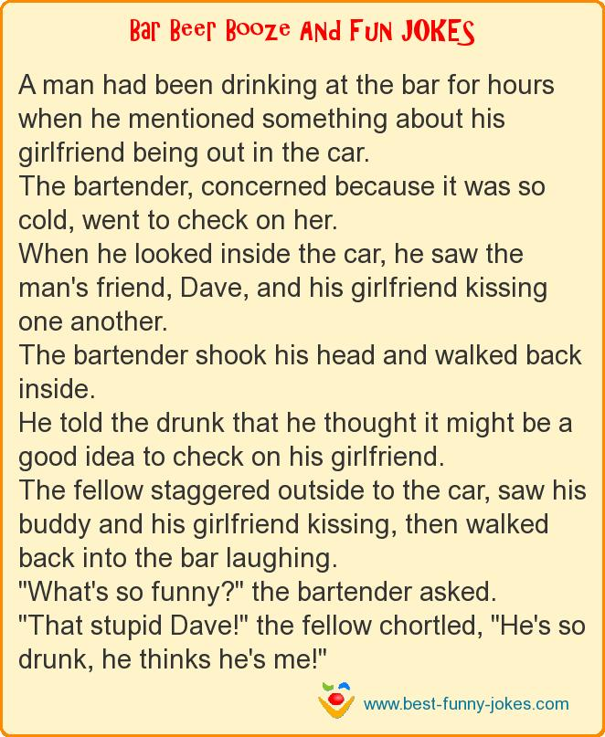 A man had been drinking at