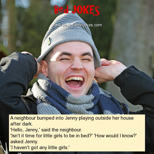 A neighbour bumped into Jenny