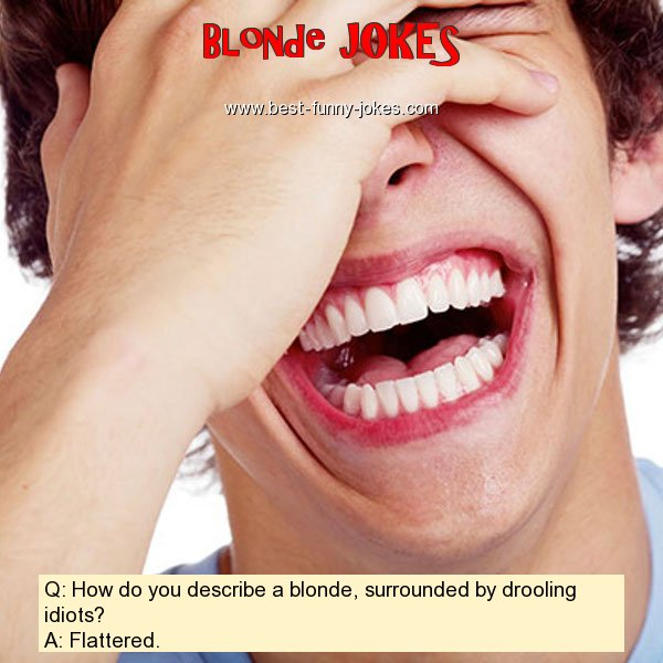 Q: How do you describe a blond