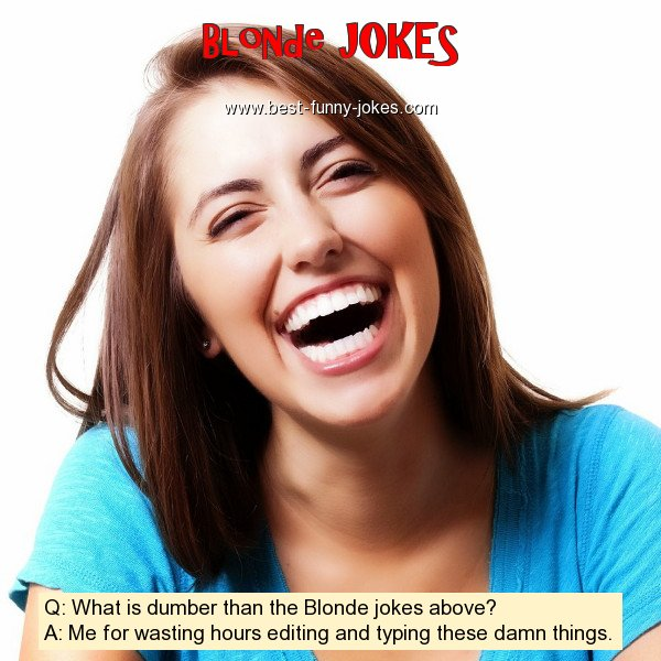 Q: What is dumber than the Blo