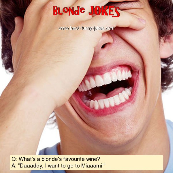 Q: What's a blonde's favourite