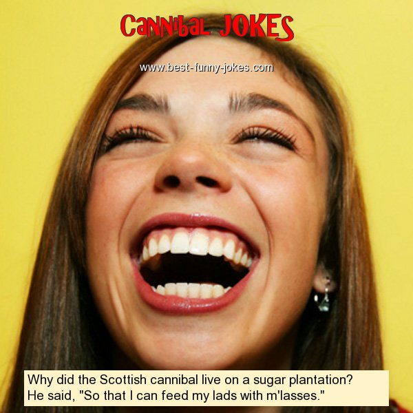 Why did the Scottish cannibal