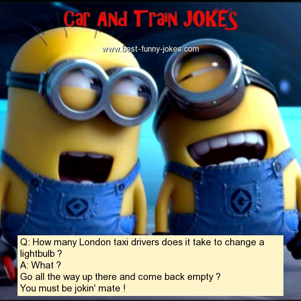 Q: How many London taxi driver