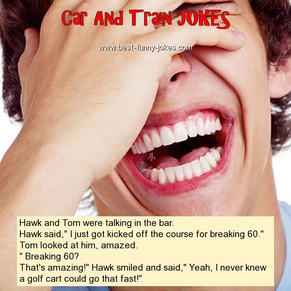 Hawk and Tom were talking in t