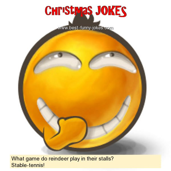 What game do reindeer play in