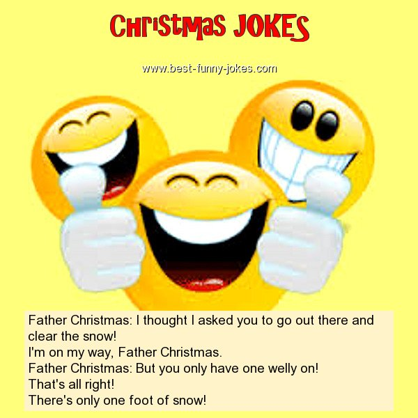 Father Christmas: I thought I