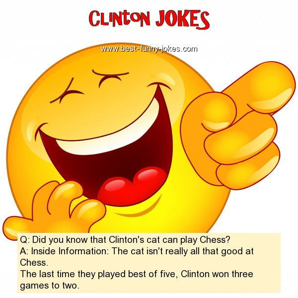 Q: Did you know that Clinton's