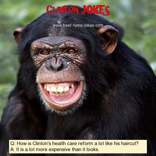 Q: How is Clinton's health c