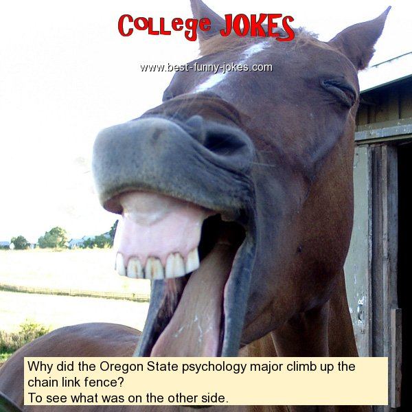 Why did the Oregon State psych