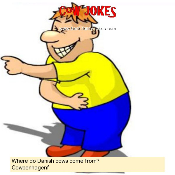 Where do Danish cows come from