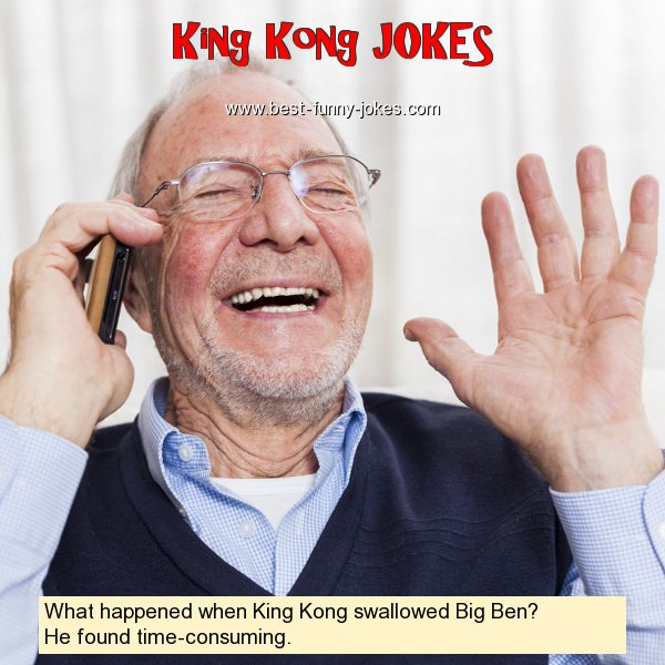 What happened when King Kong s