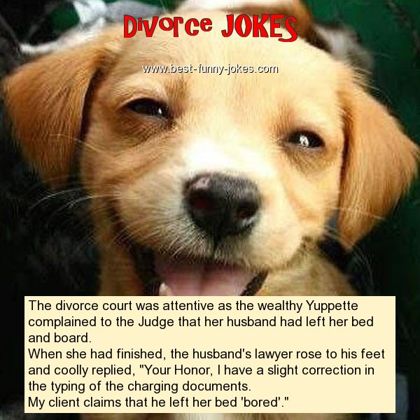 The divorce court was attentiv