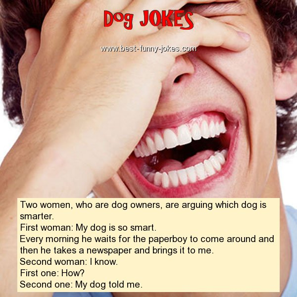Two women, who are dog owners,
