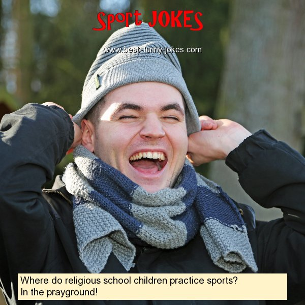 Where do religious school chil
