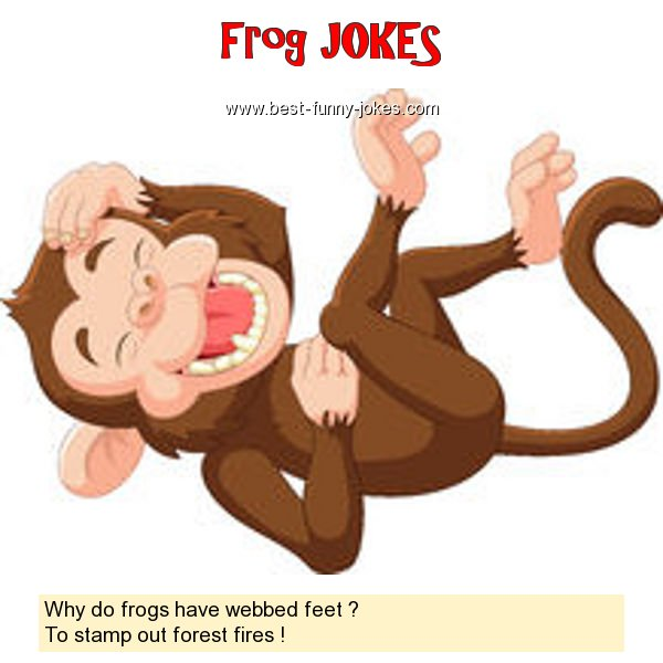 Why do frogs have webbed feet