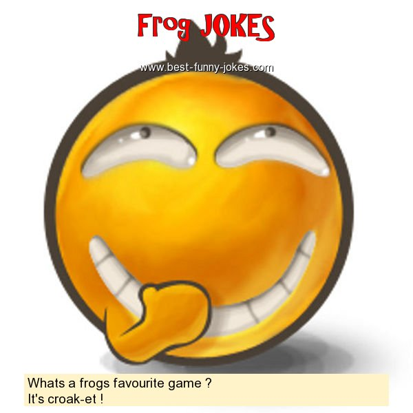 Whats a frogs favourite game ?