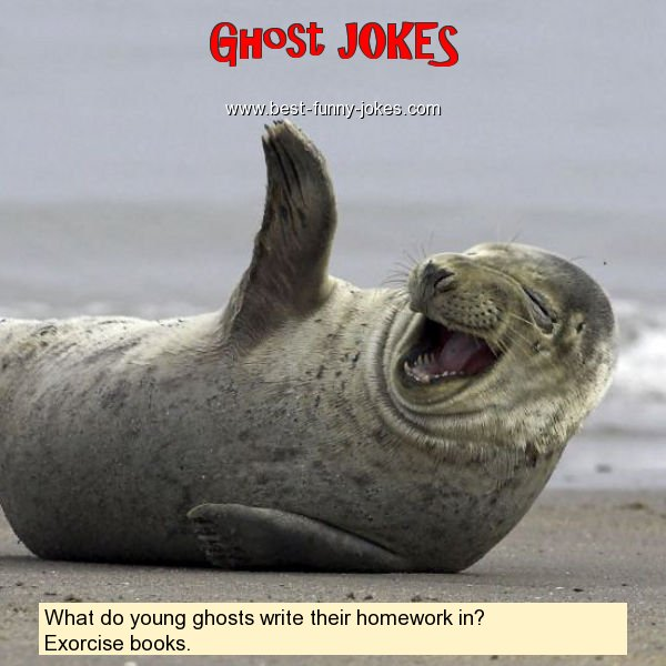 What do young ghosts write the