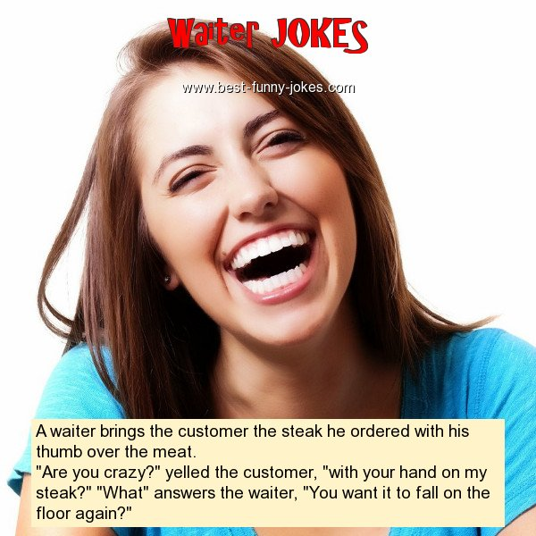 A waiter brings the customer