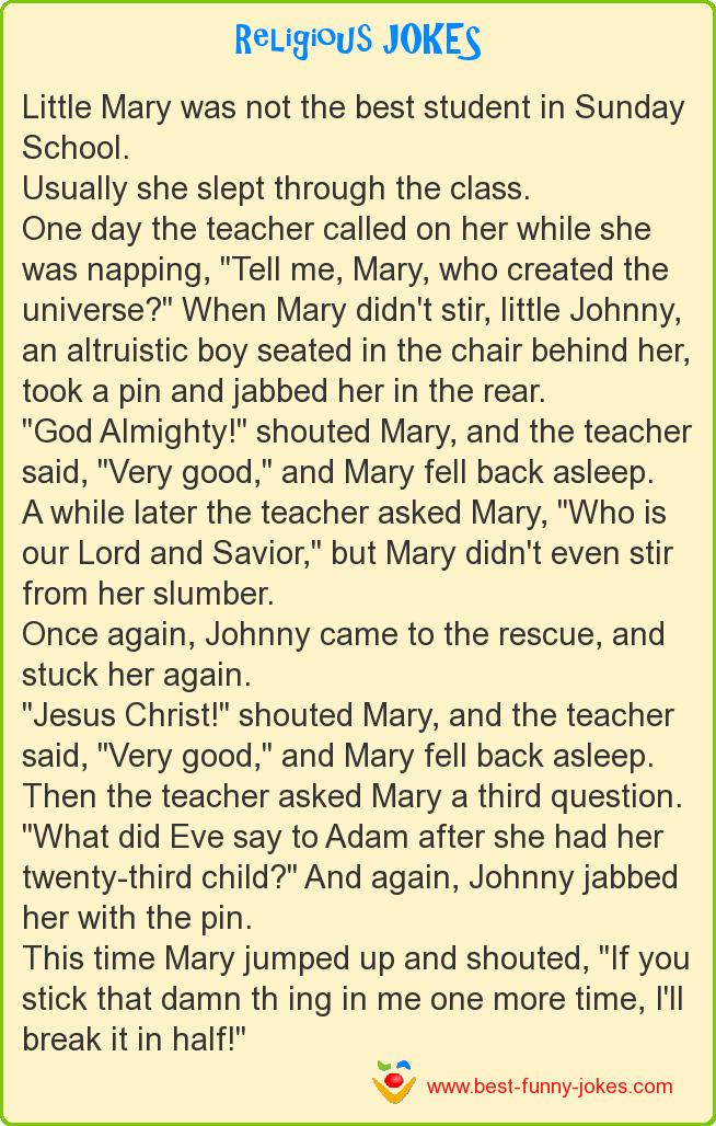 Little Mary was not the best