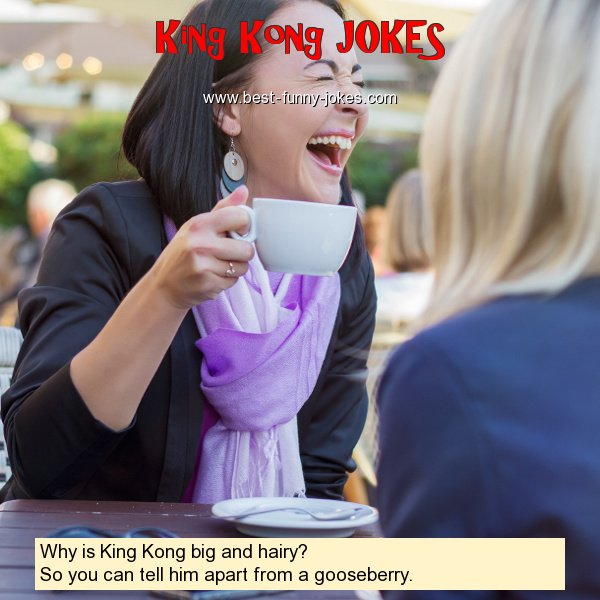 Why is King Kong big and hairy