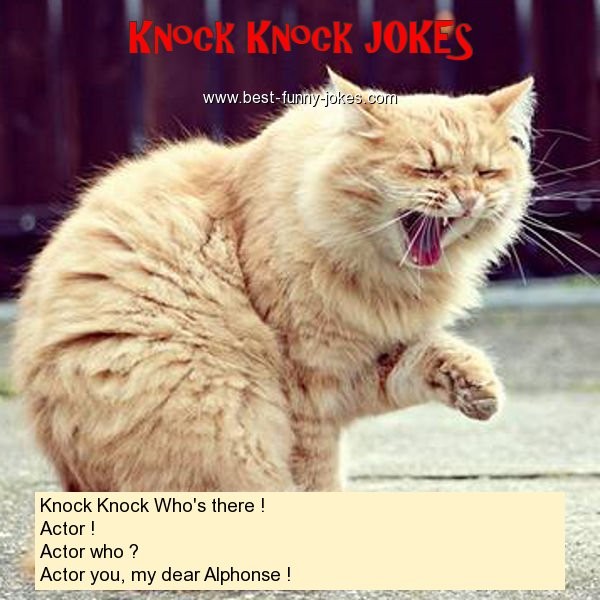 Knock Knock Who's there ! Ac