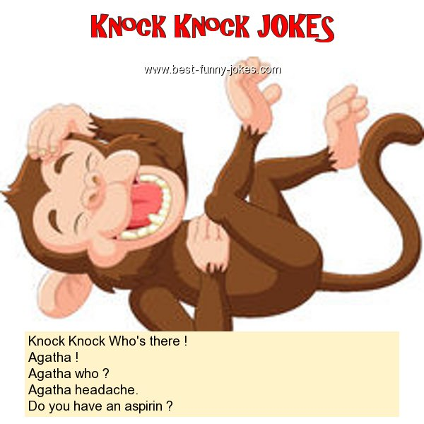 Knock Knock Who's there ! Ag