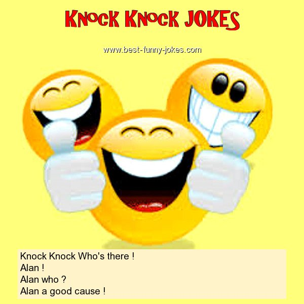 Knock Knock Who's there ! Al