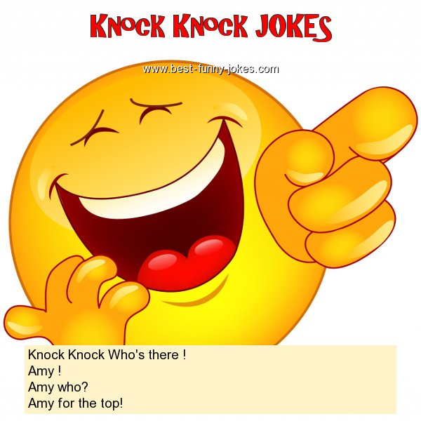 Knock Knock Who's there ! Am