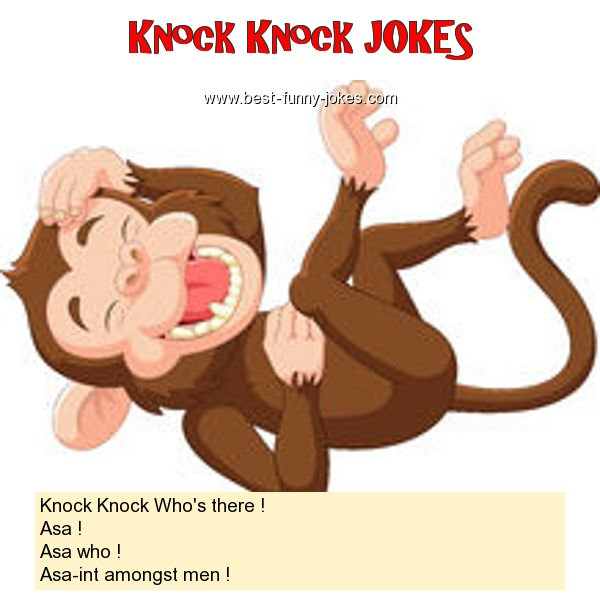Knock Knock Who's there ! As