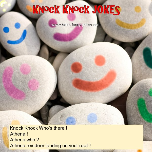 Knock Knock Who's there ! At