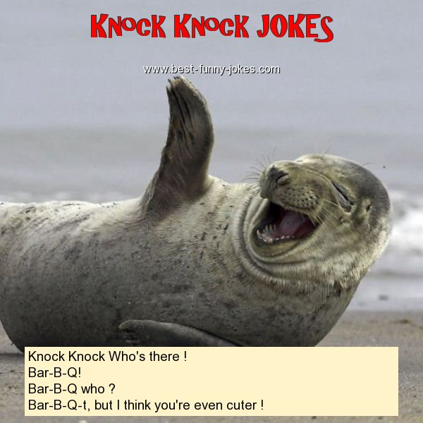 Knock Knock Who's there !