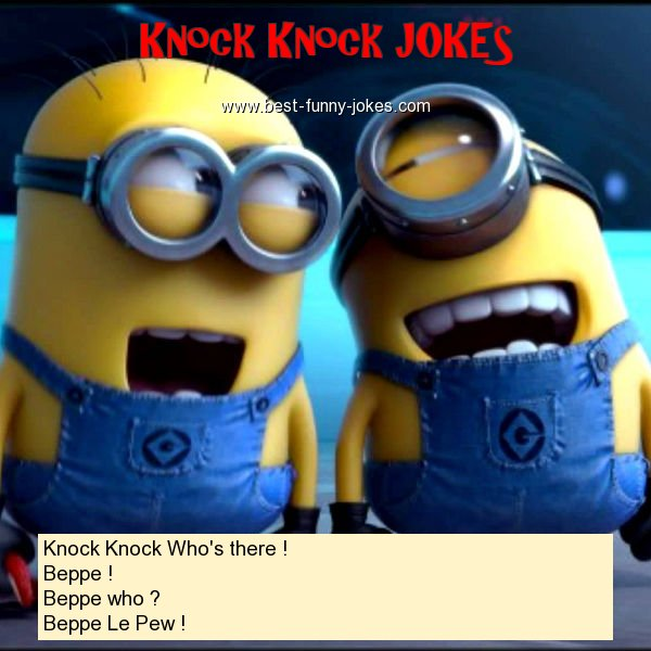 Knock Knock Who's there ! Be
