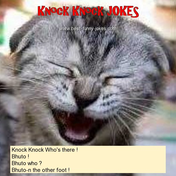 Knock Knock Who's there ! Bh