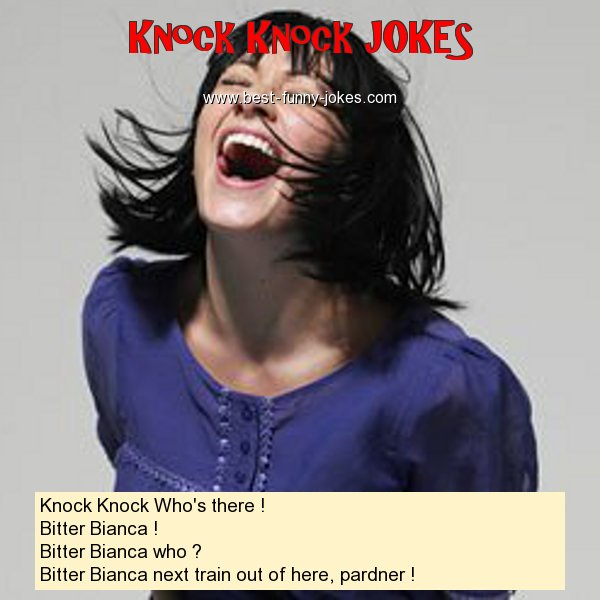 Knock Knock Who's there ! Bi