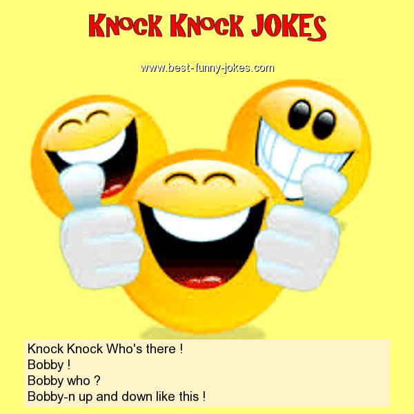 Knock Knock Who's there ! Bo