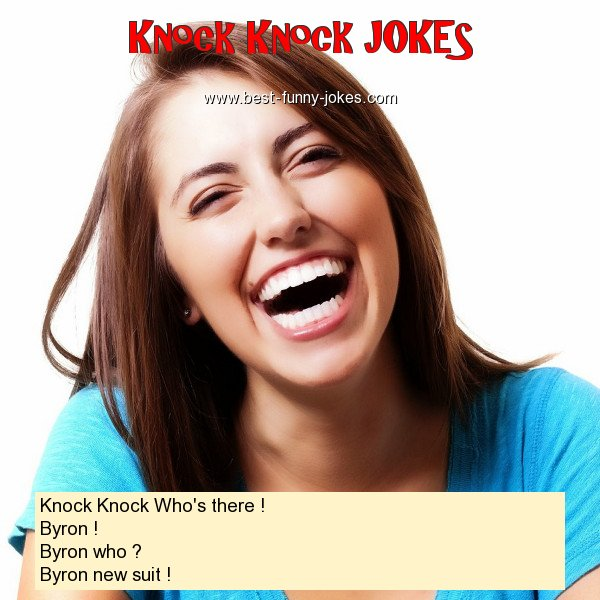 Knock Knock Who's there ! By