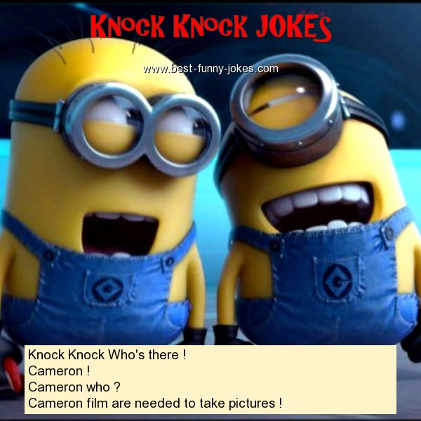 Knock Knock Who's there ! Ca