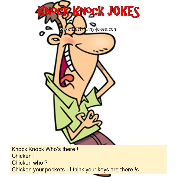 Knock Knock Who's there ! Ch