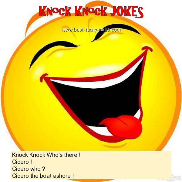 Knock Knock Who's there ! Ci