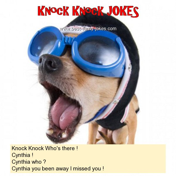 Knock Knock Who's there ! Cy