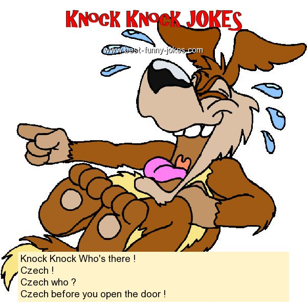 Knock Knock Who's there ! Cz