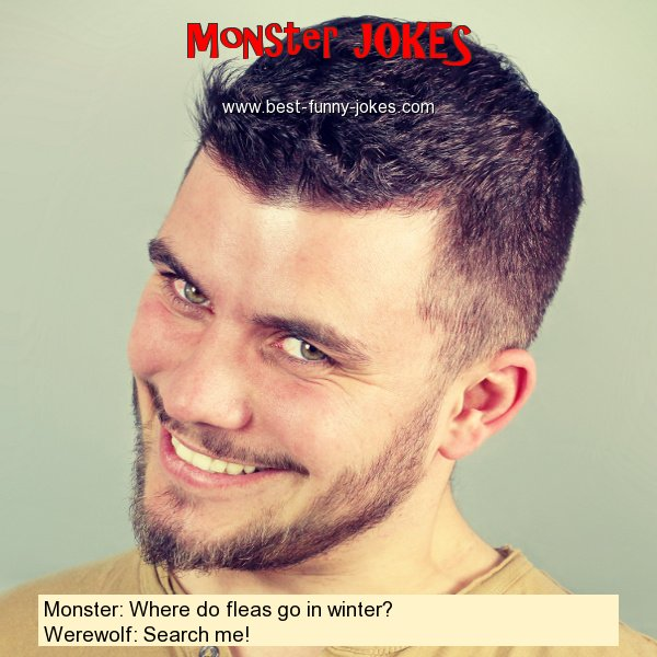 Monster: Where do fleas go in