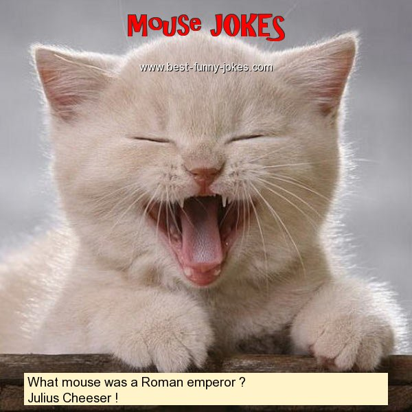 What mouse was a Roman emperor