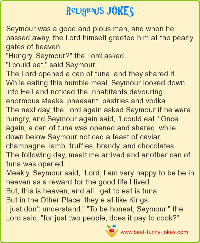 Seymour was a good and pious m