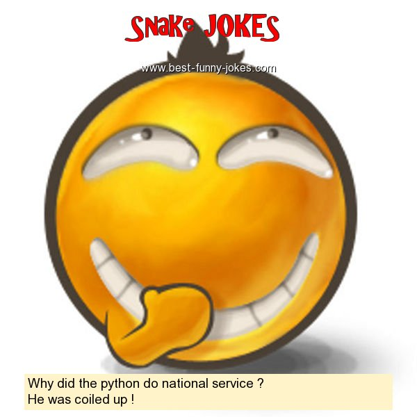 Why did the python do national