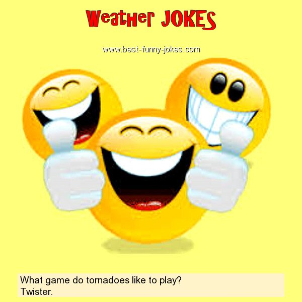 What game do tornadoes like to